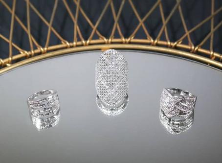 Nouveauté bijoux | Bagues en argent d'inspiration art déco