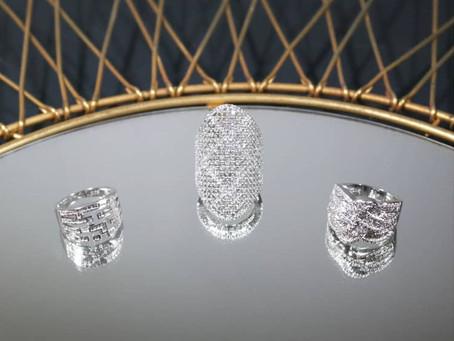Nouveauté bijoux   Bagues en argent d'inspiration art déco
