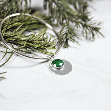 Bijoux en argent | La Malachite, du pigment au bijou bohème !