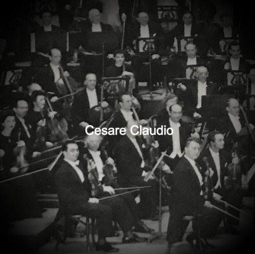 Cesare Claudio in the San Francisco Symphony Orchestra