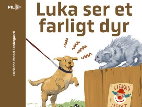 Luka ser et farligt dyr