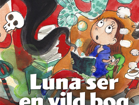 Luna ser en vild bog
