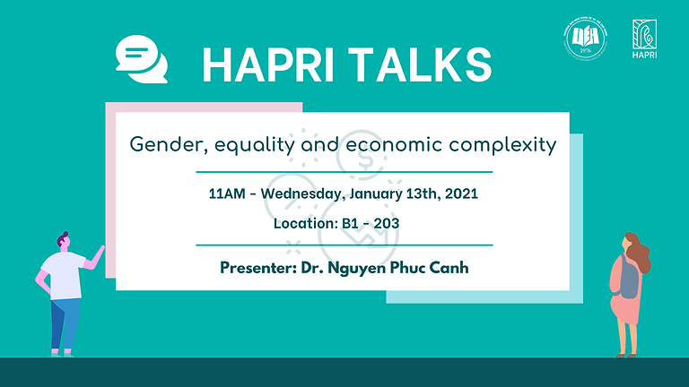 HAPRI TALKS: Gender, equality and economic complexity