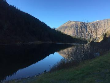 Alaska mirror lake