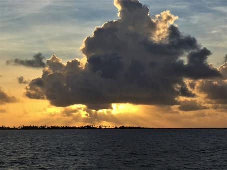 Tropical Storm Clouds