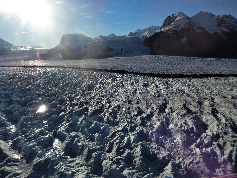Glacier moraine LS