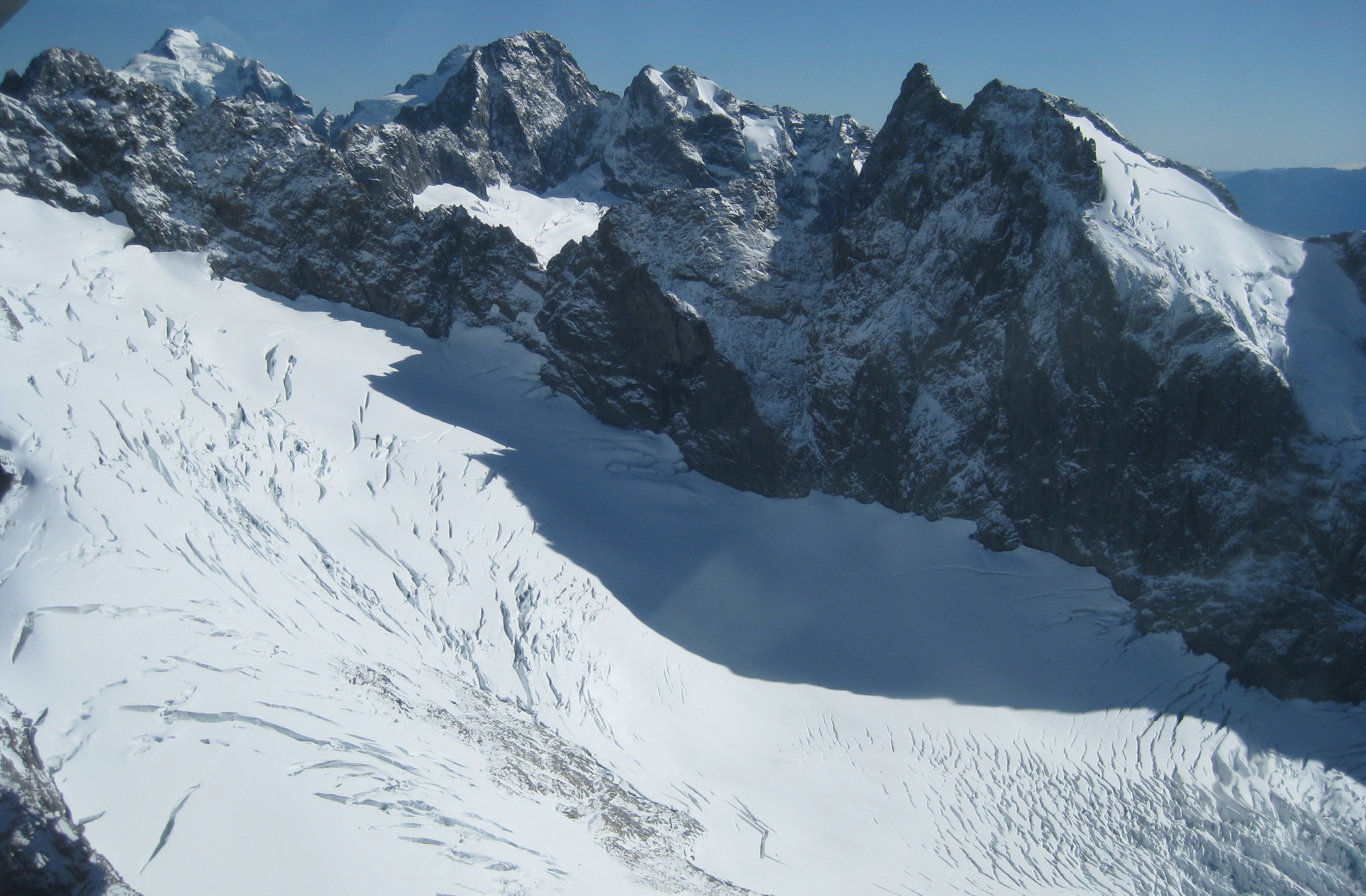 Milford glacier LS
