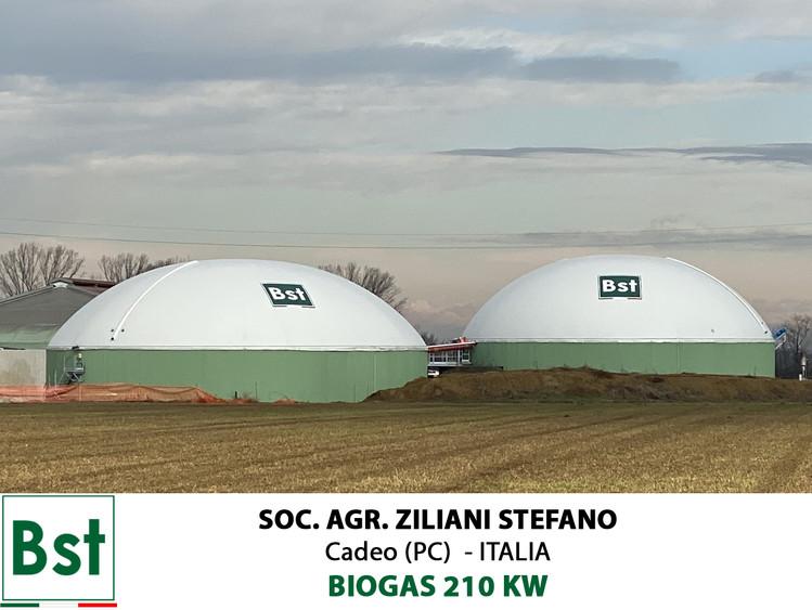 Biogas 210 KW