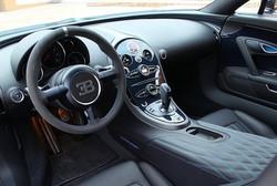Antonio Details Bugatti interior Detail