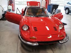 Antonio Details 1974 Ferrari Dino