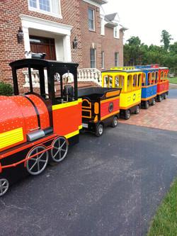 Wooden Train Done By Antonio Details