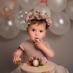 Rustic Heart Photography - Cake Smash -1