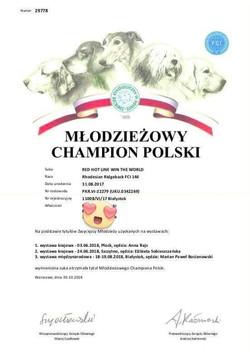 Emy PL Junior Champion