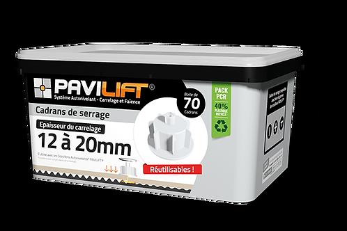 Boite de 70 cadrans de serrage PAVILIFT 12-20mm