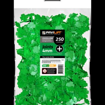 Sachet de 250 croisillons autonivelants PAVILIFT 4mm en +