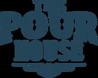 Pour House Logo Sans Tagline 1 Color Blu