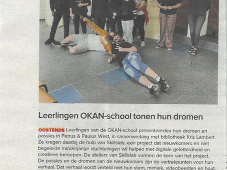artikel Krant van West-Vlaanderen - 19/09/2020