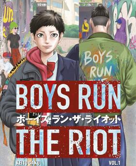 book battle: boys run the riot v.1