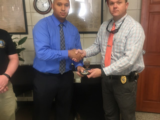 We want to introduce one of our newest Police Officers to the Vanceboro Police Department, Michael G