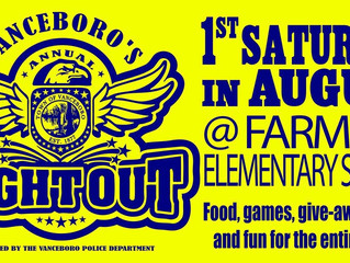 If you missed Vanceboro's annual National Night Out, you missed a great time. Vanceboro Police Depar