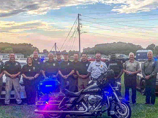 The Vanceboro PD would like to thank everyone that participated and donated their time & goods t