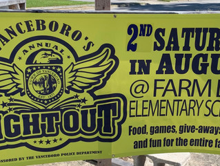 Mark your calendars for Saturday, August 10th! We will be celebrating Vanceboro's Night Out & Ba