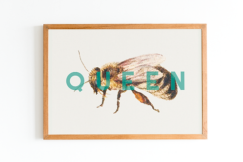 Queen Bee | A5 Print
