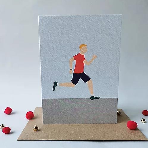 Running Man Card