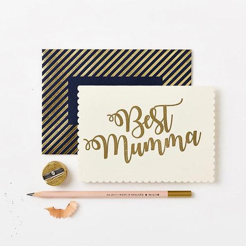 Luxury Best Mumma Card