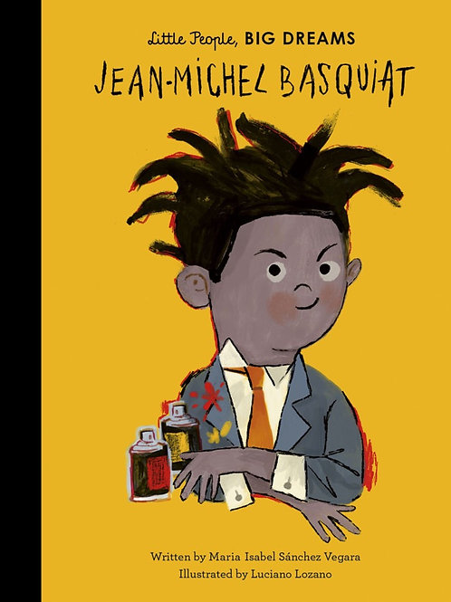 Little People, Big Dreams Book - Jean Michael Basquiat