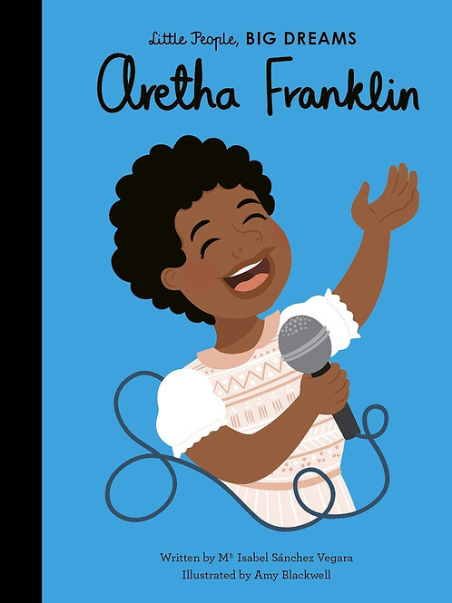 Little People, Big Dreams Book - Aretha Franklin