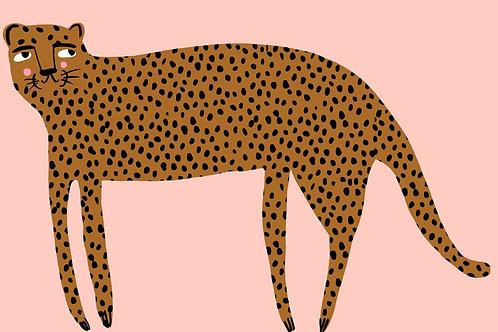 Leopard Print A4