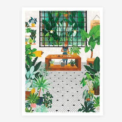 Flowershop Print