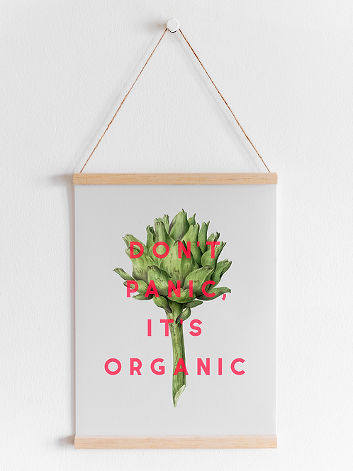 Don't Panic It's Organic | A4 Print