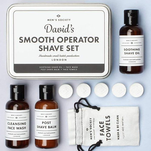Smooth Operator Shave Set(non personalized)