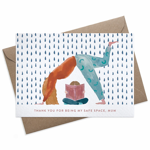 Safe Space Mum Card