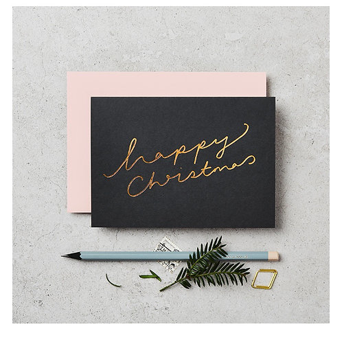 Happy Christmas Card  | Set of 6