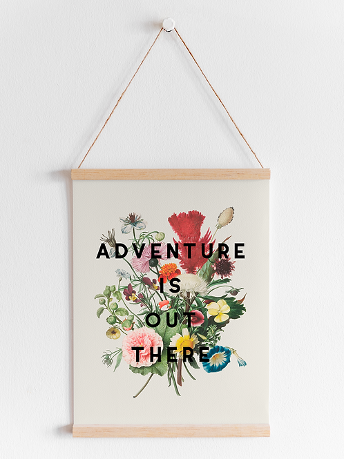 Adventure Is Out There | A4 Print