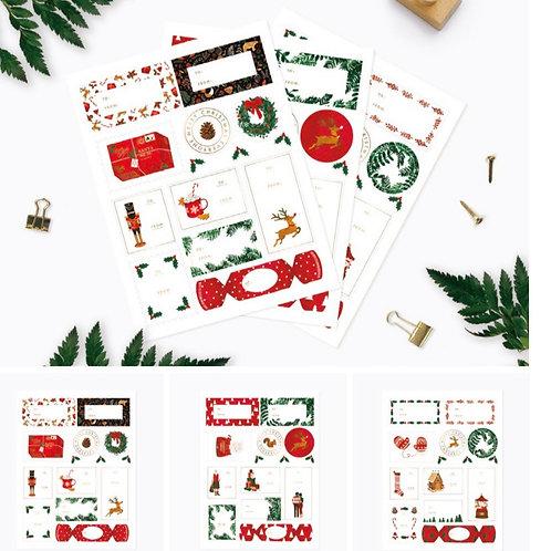 Christmas Sticker Set 2