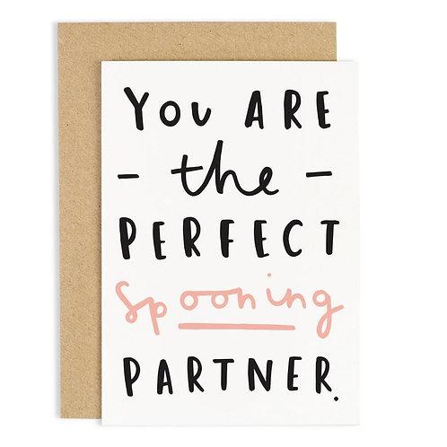 Spooning Partner Card
