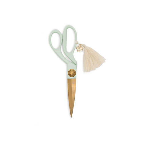 Scissors With Tassel   Dusky Blush, Mint or Mushroom