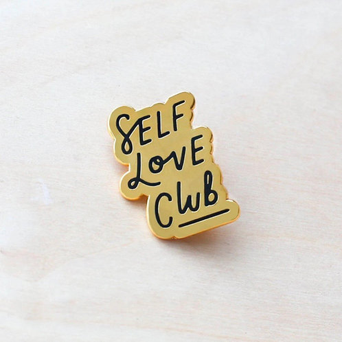 Self Love Club Enamel Pin