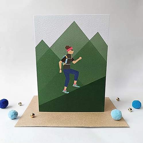 Trail Running Male or Female Card