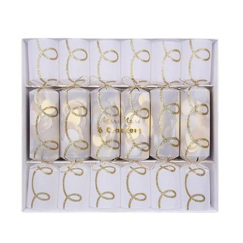 Gold Twist Confetti Crackers