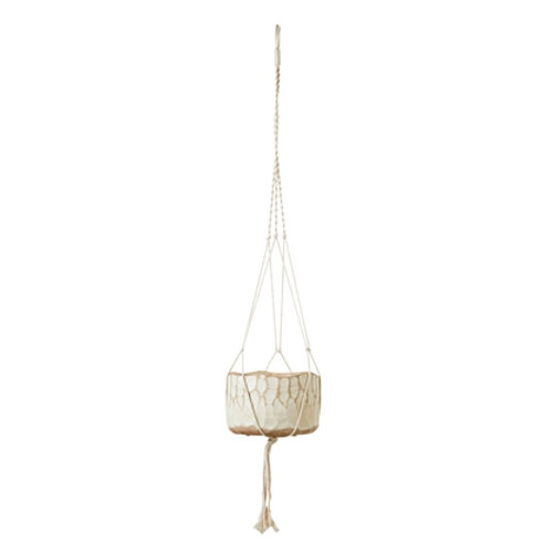 Cream cotton Plant Hanger