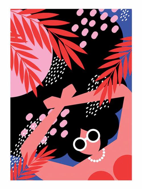 Poolside | A3 Print