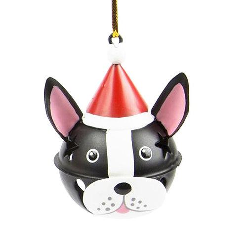 Black Dog Hanging Bell Decoration