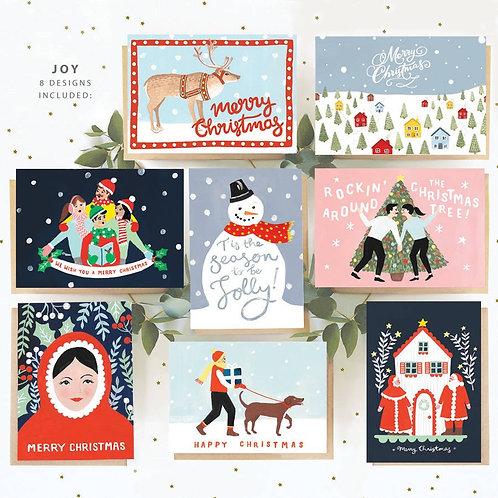 Christmas Card Set of 8