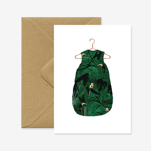 Baby Jungle Card