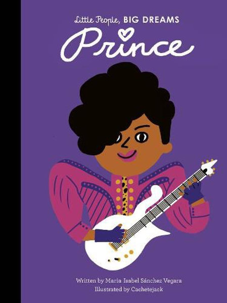 Little People, Big Dreams Book - Prince
